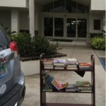 Some of the books collected for donation to Martin County Library System