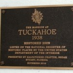 Mansion at Tuckahoe Historic Marker