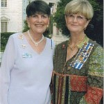 Continental Congress 2012: (L-R) Colleen Kimball and Pamela Tubbs - Education