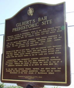 Gilbert's Bar Historical Marker