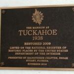 Mansion at Tuckahoe Historic Marker