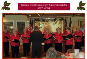 Treasure Coast Community Sing